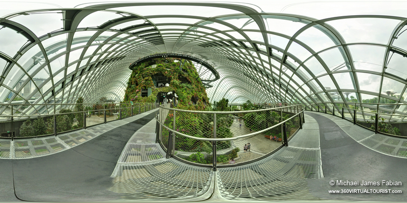 Garden By The Bay Cloud Forest gardensthe bay - cloud forest dome | 360 virtual tourist